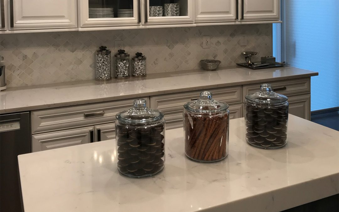 How To Organize Countertop Clutter